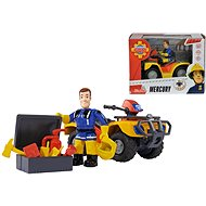 Simba Firefighter Sam Mercury Quad with Figurine - Figurine