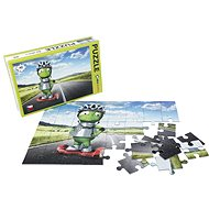 Alza Puzzle 40 Pieces - Alien Alien on Gyroboard - Puzzle