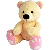Bear belly buttoon beige-rose 60cm - Plush Toy