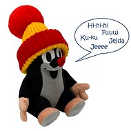 Speaking Little Mole with a Red Hat 20cm - Plush Toy