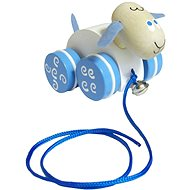 Detoa Pulling sheep - Push and Pull Toy
