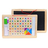 Magnetic Table with Letters and Numbers - Magnetic Board