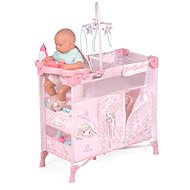 Decuevas 53041 Folding Cot for Dolls with 5 Functional Accessories Ocean Fantasy 2021 - Doll Furniture