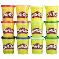 Play-Doh Pack of 12 Cups of Winter Colours - Modelling Clay