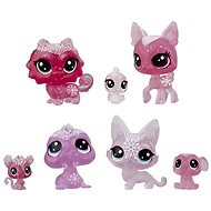 Littlest Pet Shop Animals from the Ice Kingdom 7pcs - pink - Game set