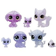 Littlest Pet Shop Animals from Frozen, 7pcs - Purple