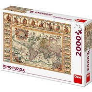 Historical World Map 2000 - Puzzle