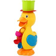 Duck with Water Mill, Green - Water Toy