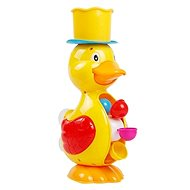 Duck with Water Mill, Yellow - Water Toy
