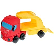 IVECO Tractor and Red Car - Toy Vehicle