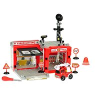 Fire station with screwdriver - Play set