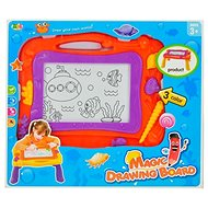 Magnetic drawing board orange - Drawing table