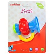 Rattle trumpet red - Baby Rattle
