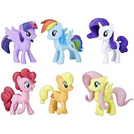 My Little Pony Meet the Mane Collection of 6 Ponies - Figure Set