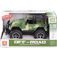 City Service Off-Road Jeep - Toy Vehicle
