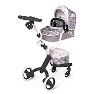 DeCuevas 81535 Modern Stroller for Dolls 3-in-1 with SKY 2020 Bag - Doll Stroller