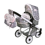 DeCuevas 80535 Folding stroller for dolls 3 in 1 with SKY 2020 backpack - Doll Stroller