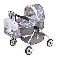 DeCuevas 86035 My First Doll Pram with Backpack and Accessories SKY 2020 - Doll Stroller