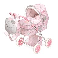 DeCuevas 85034 Collapsible Doll Pram with Backpack and Magic Maria 2020 Accessories - Doll Stroller