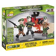 Cobi 3 figures with accessories Warsaw Uprising - Building Kit