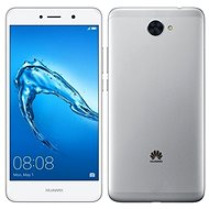 HUAWEI Y7 Silver - Mobile Phone