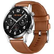 Huawei Watch GT 2 Brown Leather Strap - Smartwatch