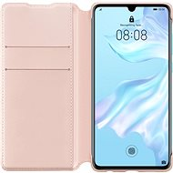 Huawei Original Wallet Case Pink for P30 - Mobile Phone Case