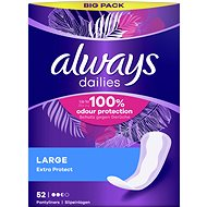 ALWAYS Extra Protect Large Panty Liners 52-Pack - Panty liners