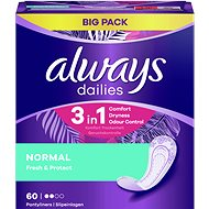 ALWAYS Fresh & Protect; Normal 60pcs - Panty liners