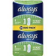 ALWAYS Ultra Standard Duo Pack 24pcs - Sanitary Pads