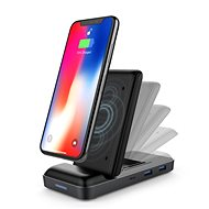 HyperDrive USB-C Hub + 7.5W Wireless Charger - Docking Station