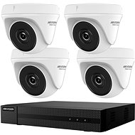 HikVision HiWatch HWK-T4144TH-MH, KIT, 4MP, Recorder + 4 Cameras, 4ch, 1TB HDD - Camera System