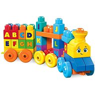 Mega Bloks Musical Toy Train with Letters