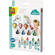 SES Painting in the bath - wax crayons, 8 pcs - Crayons