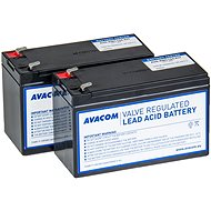 AVACOM battery kit for the revitalisation of RBC124 (2pcs) - Rechargeable battery