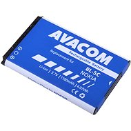 AVACOM for Nokia 6230, N70, Li-ion 3.7V 1100mAh (replacement for BL-5C) - Mobile Phone Battery