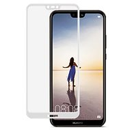 Icheckey 2.5D silk Tempered Glass protector Black for Huawei P20 Lite - Glass protector
