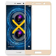 Icheckey 2.5D silk Tempered Glass Protector Gold for Honor 6X - Glass protector