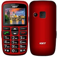 iGET Simple D7 Red - Mobile Phone