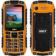 iGET Defender D10 Orange - Mobile Phone