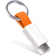 InCharge Micro USB Orange, 0.08m - Data cable