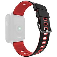 IMMAX for SW9 Watches, Black/Red - Watch band