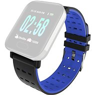 IMMAX for SW11 Watch, Black-blue - Watch band