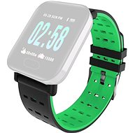 IMMAX for SW11 Watch, Black-green - Watch band