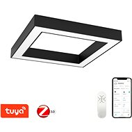 Immax NEO CANO 07074L Smart 80x80cm 60W Black - Ceiling Light