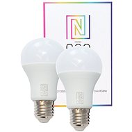 Immax NEO Smart Set 2x LED bulb E27 9W Colour and Warm White, Dimmable, Zigbee 3.0 - LED Bulb