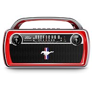 ION Mustang Stereo, Red - Bluetooth Speaker