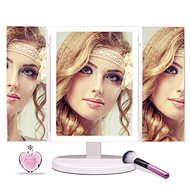IQ-TECHFascinate 3D iMirror, White - Cosmetic Mirror