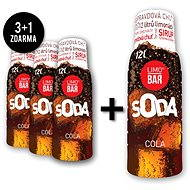 LIMO BAR Syrup 3+1 Cola Pack - Syrup