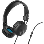JLAB Studio Wired On Ear Headphones, Black - Headphones